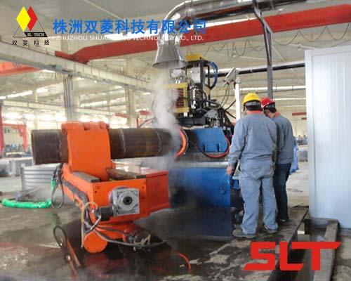 SLZPW系列中频加热弯管机