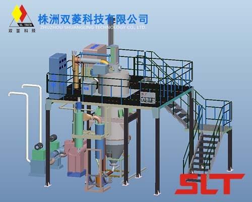吴中钛粉气雾化制粉设备